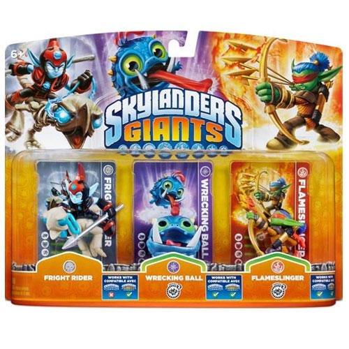 Skylanders: Giants - Triple Pack G: Wrecking Ball, Fright Rider, Flameslinger