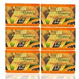 Lass Naturals PAPAYA & LIQURIOUS SKIN WHITENNING Handmade Soap (Pack Of 6)