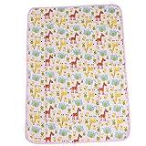 Hengsong Baby Folding Travel Changing Mat Washable Diaper Cartoon Changing Mat Pad Giraffe