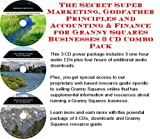 img - for The Secret Super Marketing, Godfather Principles and Accounting & Finance for Granny Squares Businesses 3 CD Combo Pack book / textbook / text book