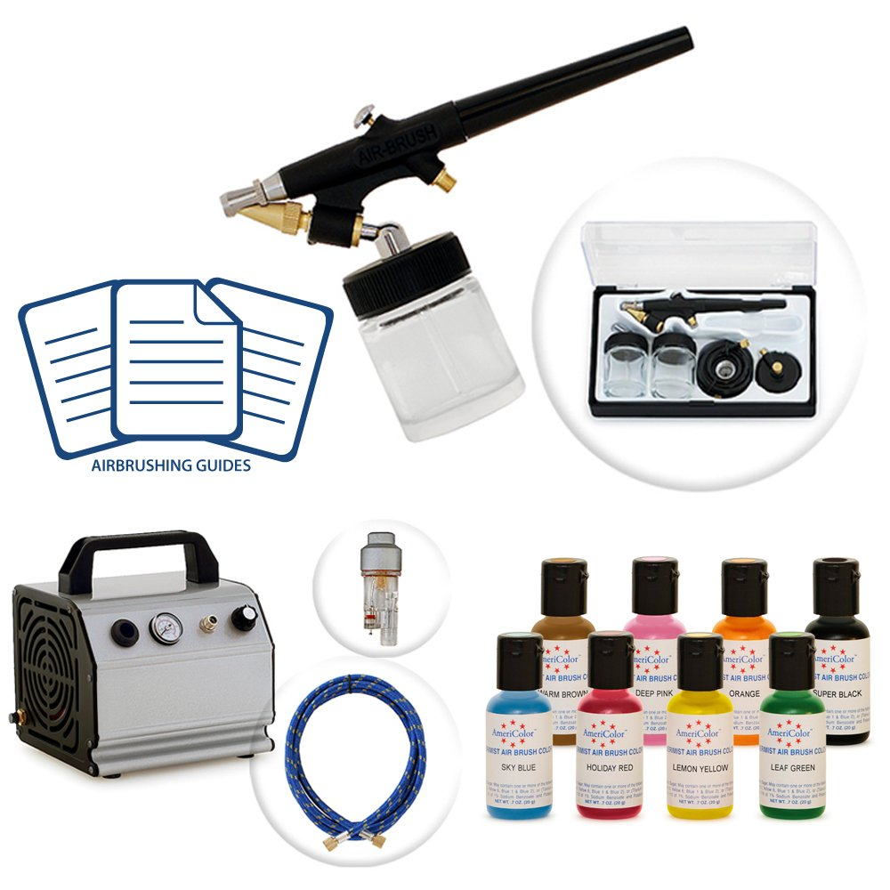 Artlogic Cake Decorating Airbrush Kit : From The Desk of ElleDeeEsse: Cake Decorating Airbrush Kits