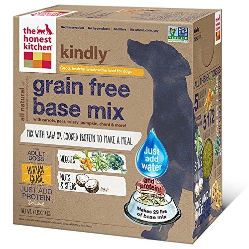 The Honest Kitchen Kindly: Grain Free Base Mix Dog Food, 7 lb