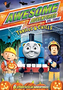 Awesome Adventures: Thrills & Chills Vol. 3 DVD - Thomas the Tank / Fireman Sam / Bob the Builder