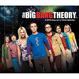 The Big Bang Theory 2016 Desk Calendar by Trends International by Trends International