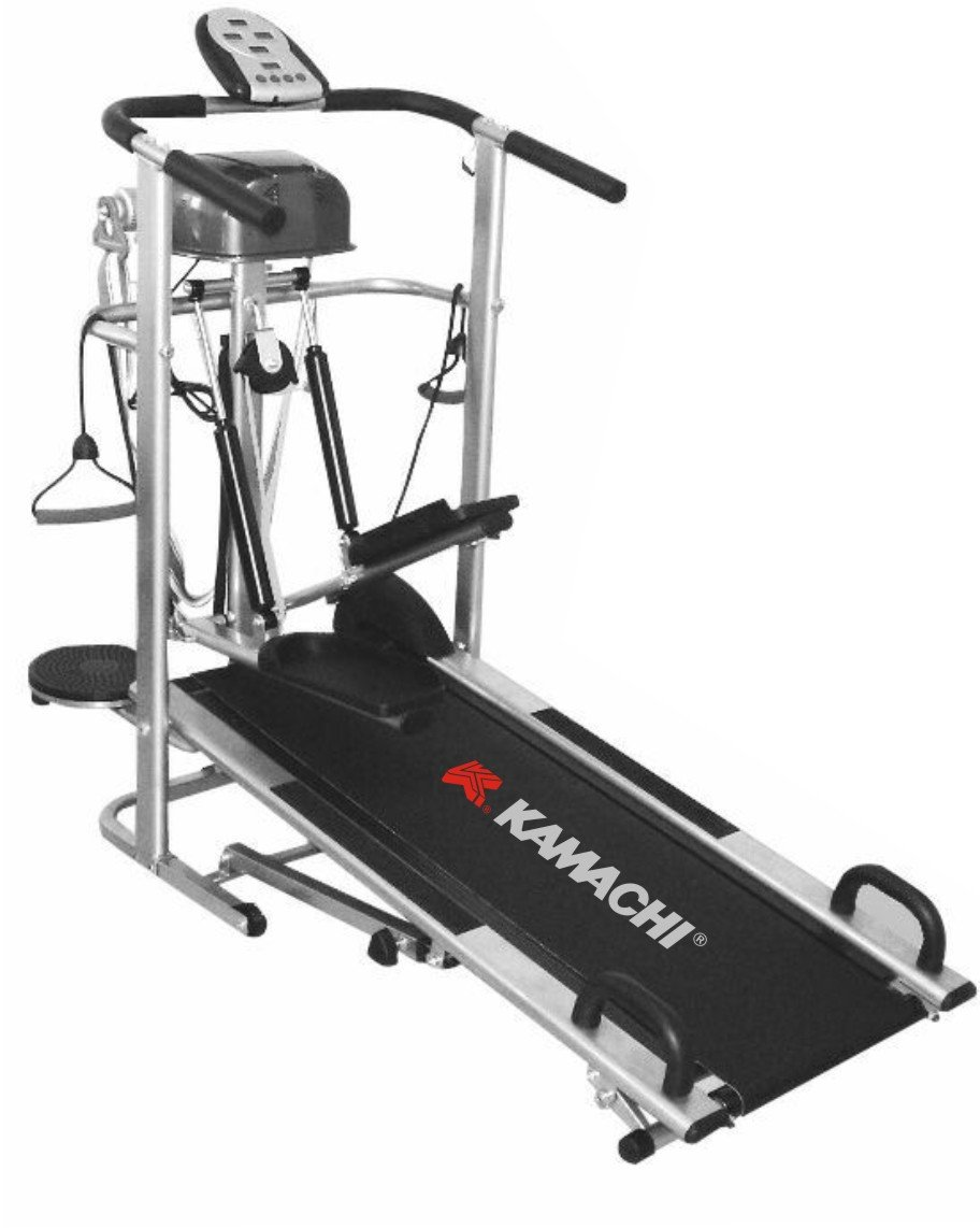 Kamachi 6 in 1 Manual Treadmill