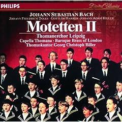 Johann Sebastian Bach: Die Motetten II