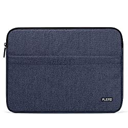 Plemo 15 - 15.6 Inch Laptop Sleeve Case Bag Cover for MacBook Pro / Notebook Compute/Acer/Asus/Dell/Fujitsu/Lenovo/HP/Samsung/Sony/Toshiba with Denim Fabric, Blue