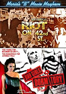 "Maria's ""B"" Movie Mayhem: Riot on 42nd St. / Bad Girls Dormitory"