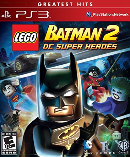 LEGO Batman 2: DC Super Heroes (Playstation, PS3, Family, Children) Brand NEW (Marvel Superheroes Lego Ps3 compare prices)