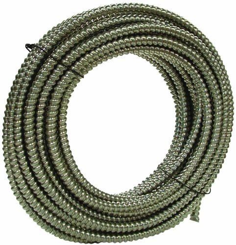 Southwire 55082103 100-Feet 1/2-Inch Alflex-Type Rwa Reduced Wall Aluminum Flexible Metal Conduit