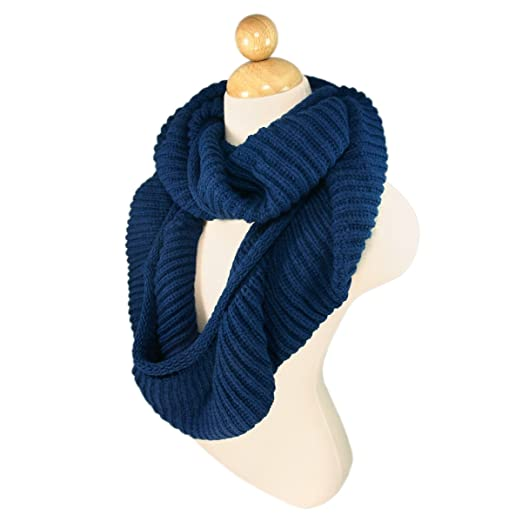 Winter Knit Infinity Scarf (various colors)