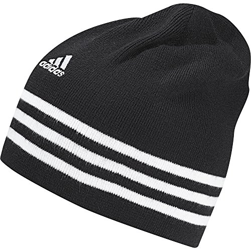 Adidas Ess 3S Berretto, Nero/Bianco (Nero/Bianco/Bianco), OSFM