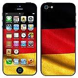 """atFoliX Designfolie """"Deutschland Flagge"""" f�r Apple iPhone 5 - ohne Displayschutzfolievon """"Designfolien@FoliX"""""""