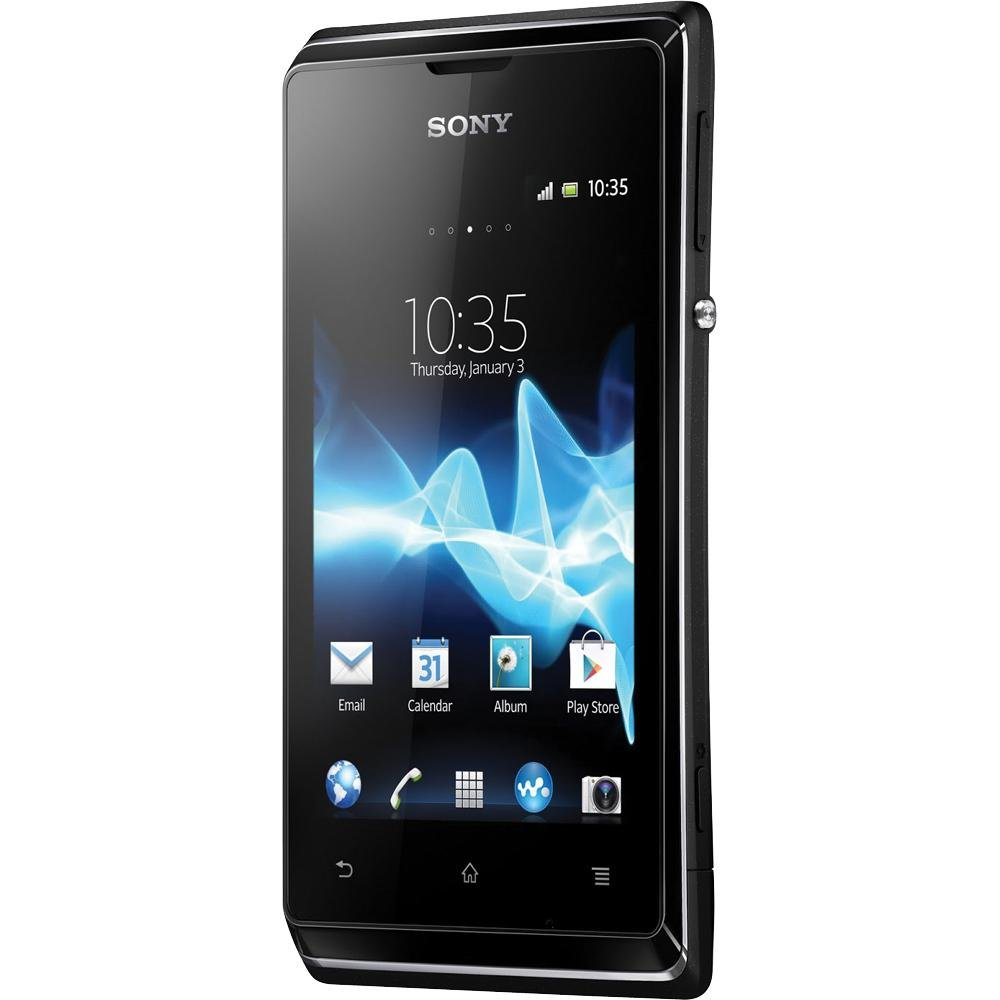 Sony Xperia E C1504 Unlocked Android Phone–U.S. Warranty (Black)