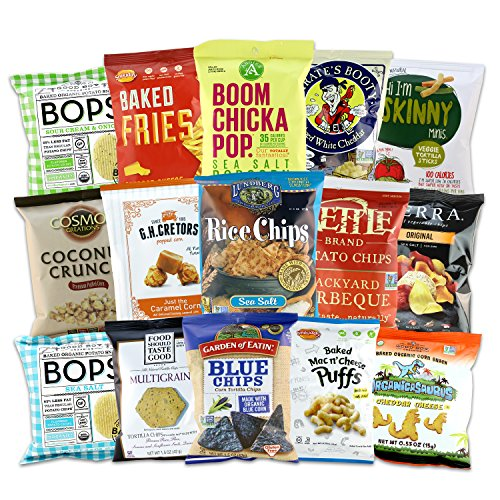 Gluten Free Snacks Organic Gift Bundle (All Natural,