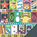 Imaginisce Family Fun Cut & Paste Family Scrapbook Paper