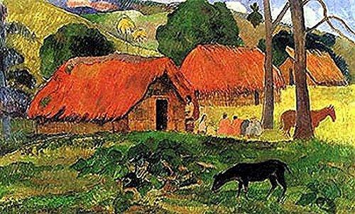 paul-gauguin-village-in-tahiti-fine-art-print-8636-x-6096-cm