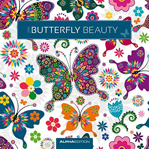 Alpha Edition 160127 Butterflys Calendario da Muro 2016 30 X 60 cm Aperto PDF