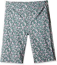 United Colors of Benetton Girls' Trousers (16P4S5TL5650G71K_Multi-Coloured_XL)