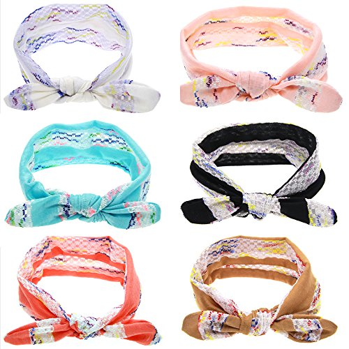 f57d37477b1be3 Mookiraer® 2016 New Style Baby Headbands Newborn headband Girl's Cute Hair  bands Review