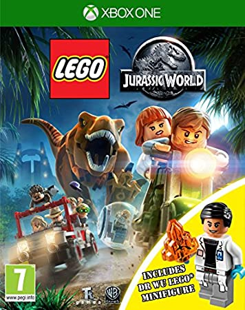 Lego Jurassic World Inc Dr Wu Mini Figure - Amazon Exclusive (Xbox One)