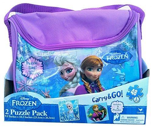 Disney Frozen Carry and Go 2 Fashion Bag Puzzle (48-Piece) - 1