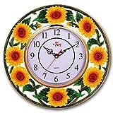 SUNFLOWER 3-Dimensional Wall Clock BRAND NEW!