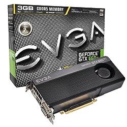 EVGA GeForce GTX 660Ti SUPERCLOCKED+ 3072MB GDDR5 DVI-I, DVI-D, HDMI, DP, SLI Graphics Card (03G-P4-3663-KR) Graphics Cards 03G-P4-3663-KR
