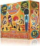 echange, troc Kids Karaoké : Coffret 3 DVD + 1 Micro Rigolo Enfant