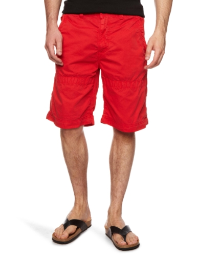 Timberland Poplin Sailing Men's Shorts Formula One Red W32 IN