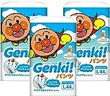 【ケース販売】 ネピア GENKI! パンツ Lサイズ 132枚(44枚×3) ランキングお取り寄せ