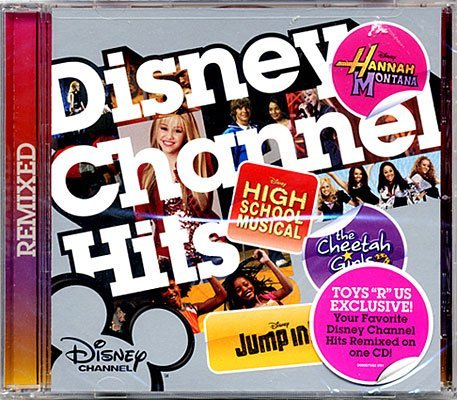 Disney Channel Hits Music CD [Includes Songs from High School Musical, Hannah Montana, Cheetah Girls & Jump In!]