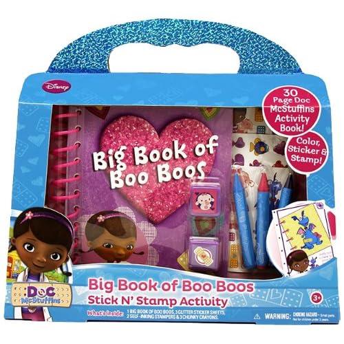 Tara Toy Doc McStuffins Big Book of Boo Boos