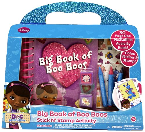 Tara Toy Doc McStuffins Big Book of Boo Boo's