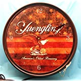 Yuengling Beer Americana 19 In Neon Clock
