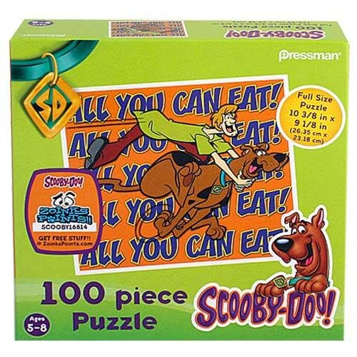 "Scooby-Doo ~ ""All You Can Eat"" ~ 12""x12"" Puzzle"