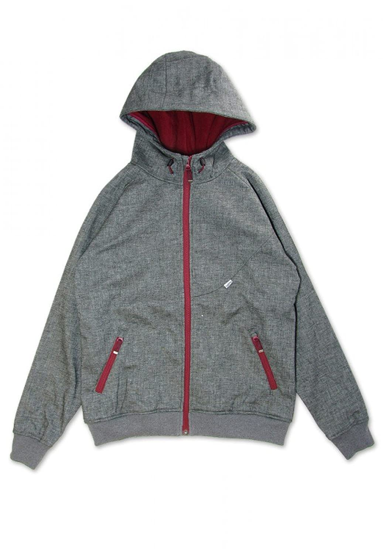 Cleptomanicx Burner Bonded 2 Jacke – heather dark grey Größe: L Farbe: Grau günstig kaufen