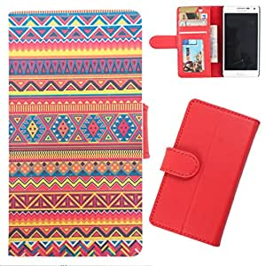 DooDa - For Karbonn A7 Star PU Leather Designer Fashionable Fancy Wallet Flip Case Cover Pouch With Card, ID & Cash Slots And Smooth Inner Velvet With Strong Magnetic Lock