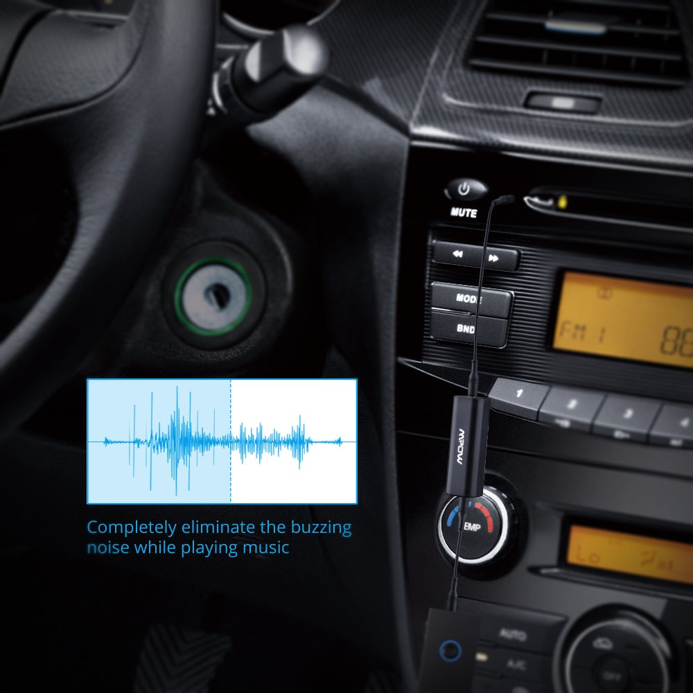 mpow ground loop noise isolator car audio system home. Black Bedroom Furniture Sets. Home Design Ideas