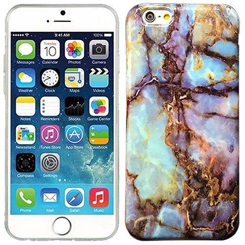 aqua-blue-orange-granite-marble-candy-rubber-tpu-soft-case-skin-cover-for-apple-iphone-6-6s-plus-wit