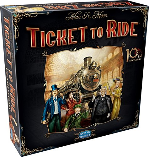 Ticket to Ride 10th Anniversary Edition (Ticket 1910 compare prices)