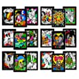 Super Pack of 18 Fuzzy Velvet 8x10 Inch Posters (Original Edition)