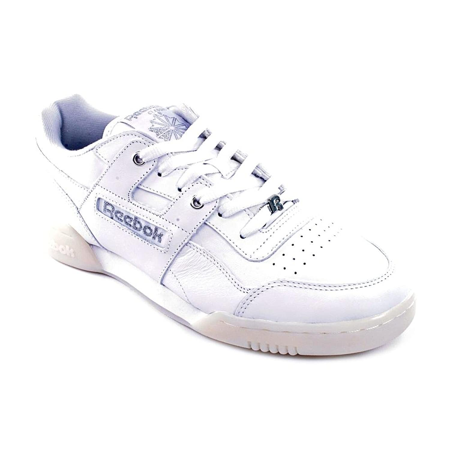 Reebok Classics Workout Plus Men's Leather Trainers Shoes пуховик reebok classics reebok classics re005emuot67
