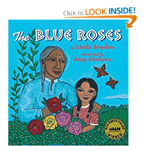 The Blue Roses Linda Boyden and Amy Cordova