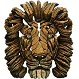Edge sculpture - Lion bust