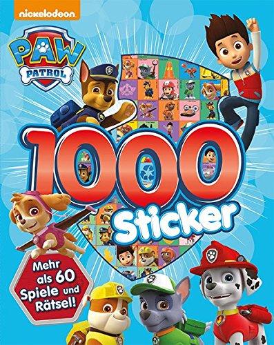 Nickelodeon Paw Patrol - 1.000 Sticker: Mehr als 60 Spiele & Rätsel