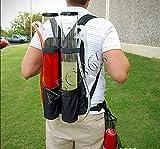 Backpack Dispenser Dual Drink Liquid Shot Pump Gun Beer Machine PUB Us Seller