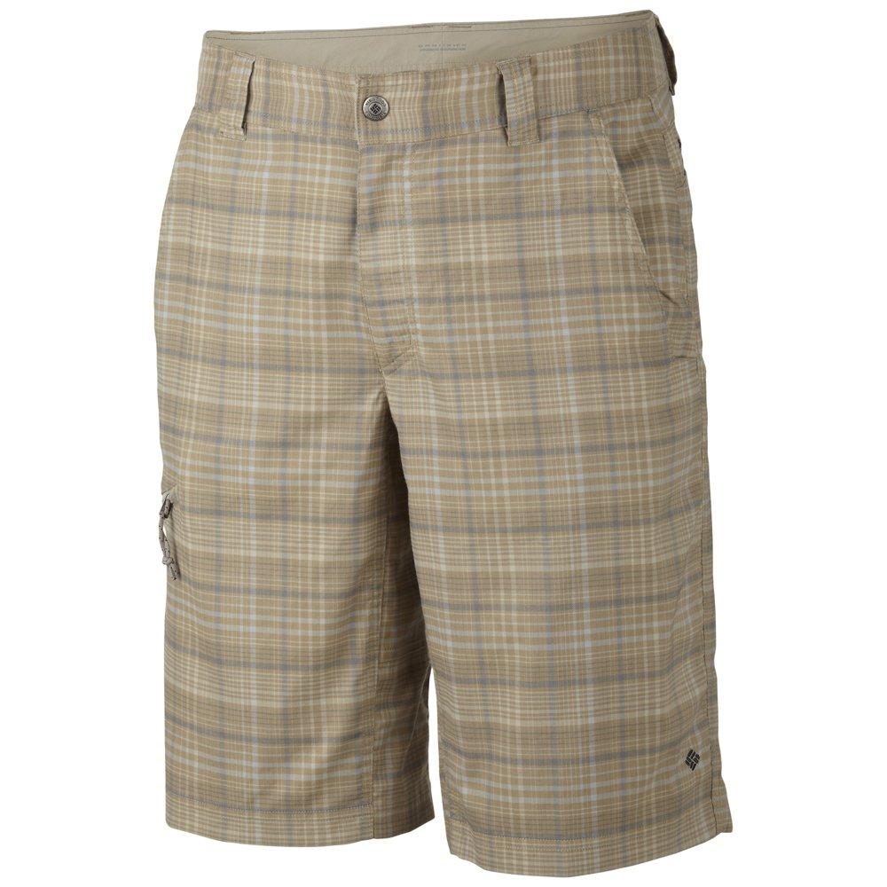 Мужские шорты для туризма Columbia Men's Cool Creek Plaid Shorts BEIGE 40x14