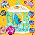 "Little Live Pets 28233 ""Tweet Talking Birds with Cage"" Toy"