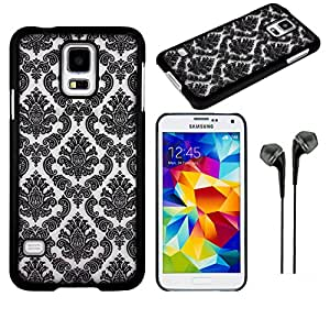 Vangoddy Black Frosted Lace Tpu Skin Cover Cover